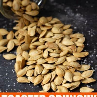 Roasted Pumpkin Seeds Recipe.