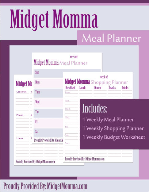 free meal planning  weekly budget  u0026 shopping list printables