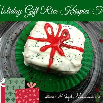 Treat your taste buds with this special holiday gift. These holiday gifts are a rice crispy treat coated in rich smooth white chocolate.
