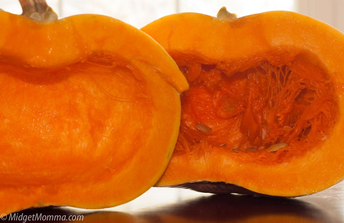 How to Make Pumpkin Puree with fresh pumpkin