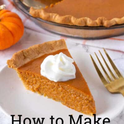 This homemade pumpkin pie recipe is a pumpkin pie from scratch that tastes amazing. Pumpkin pie made with real pumpkin (or canned if that is all you have on hand) with the perfect pumpkin pie spice flavors, this pumpkin pie recipe will become your go to any time you want to enjoy a tasty and easy pumpkin pie recipe! #pumpkinpie #Homemadepumpkinpie