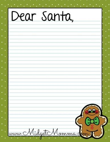image relating to Dear Santa Printable referred to as Totally free Santa Letter Printables