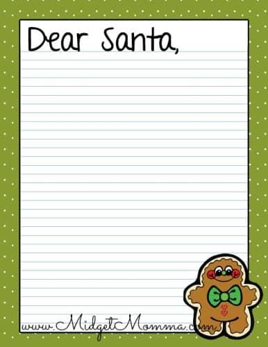 gingerbread dear santa free printable .jpg