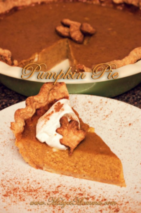 Homemade Pumpkin Pie, made with homemade pumpkin puree. This Pumpkin pie is the best one you will ever make and totally beats the store bought ones!