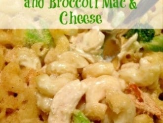 Chicken and Broccoli Baked Macaroni & Cheese is a great dinner. this Chicken and Broccoli Baked Macaroni & Cheese is nice and cheesey, has veggies & meat