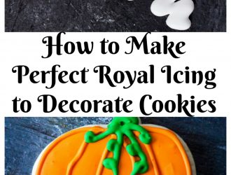 Royal Icing Recipe for Cookie Decorating