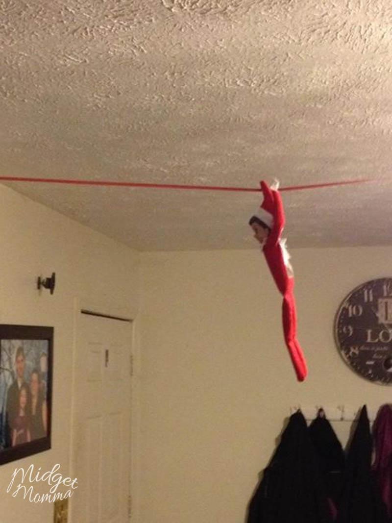 Quick Elf on the Shelf Ideas
