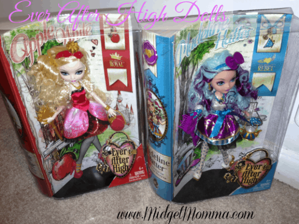 "Holiday Gift Guide: Toys""R""Us ""Fabulous 15 – Ever After High™ Royal & Rebel Dolls from Mattel®"