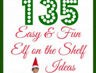 135 easy elf on the shelf ideas