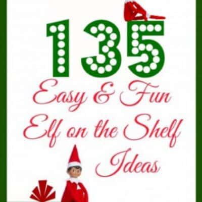 135 easy elf on the shelf ideas