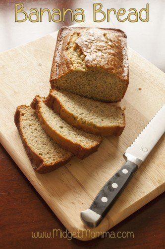 Banana Bread. This great banana bread recipe will be sure to make you have a great banana flavor and great for breakfast.