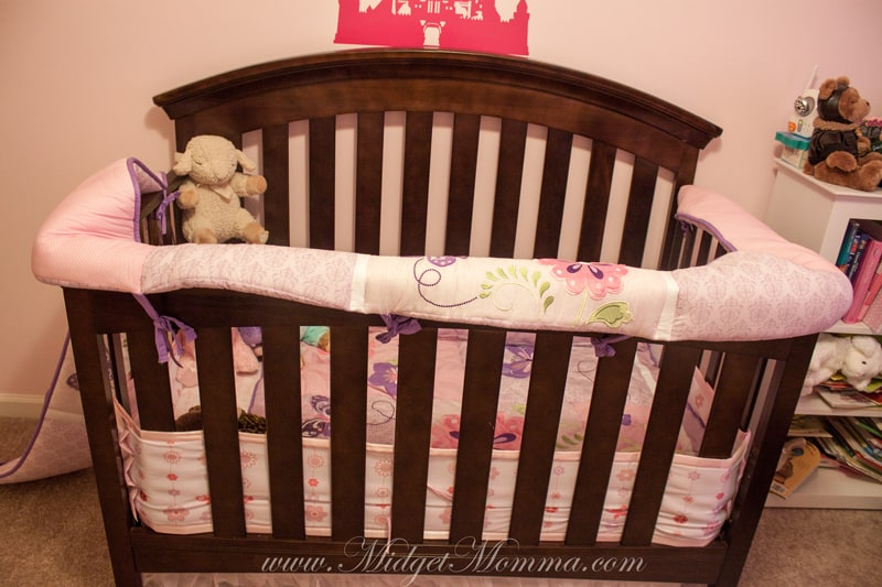 How To Make A Teething Guard From A Crib Bumper