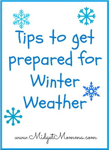 Tips to get prepared for Winter Weather