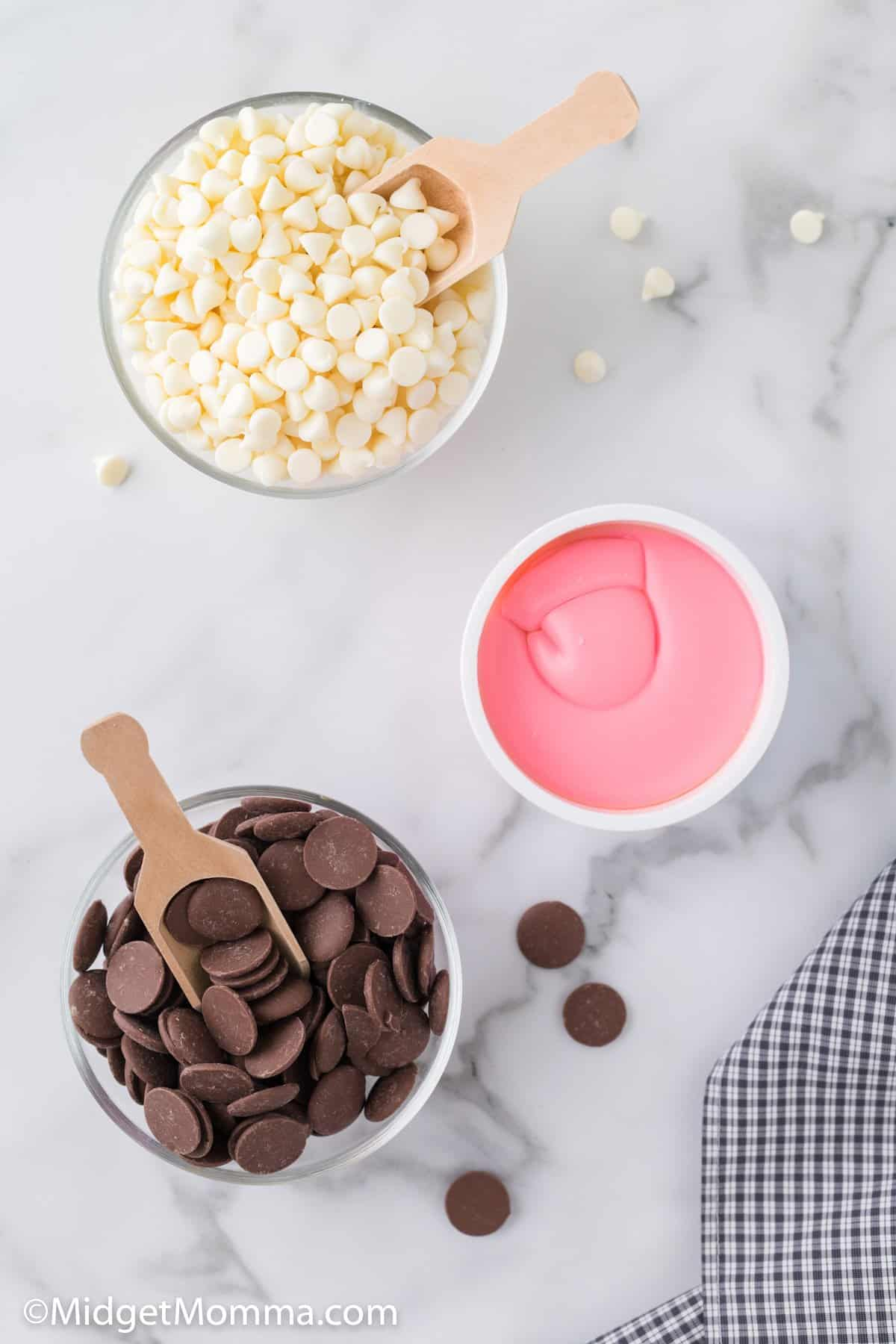 Strawberry Chocolate Creams ingredients