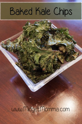 You could buy kale chips at the store but they are they way over priced. They are just so simple to make it just takes a half hour and they taste better!