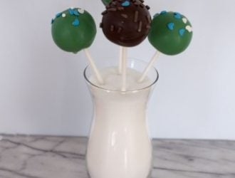How to Make Perfect Cake Pops breaks down all the tips I have learned from making lots of cake pops. They make this great moist cake covered in chocolate.