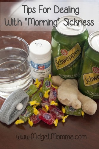 "Tips For Dealing With ""Morning"" Sickness"