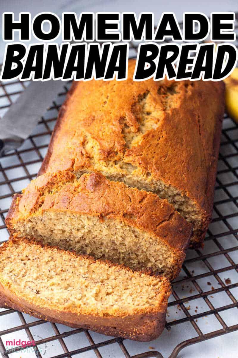 homemade banana bread RECIPE