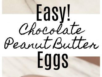 Copycat Chocolate Peanut Butter Eggs