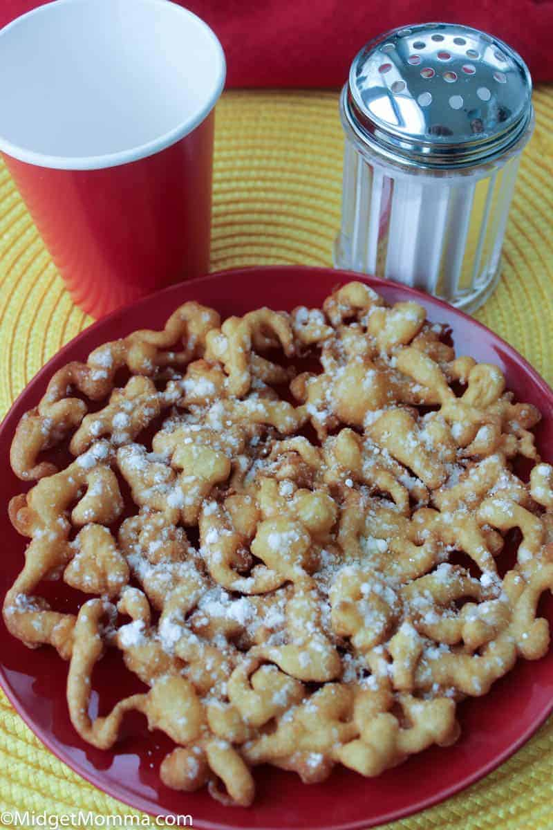 homemade funnel cake