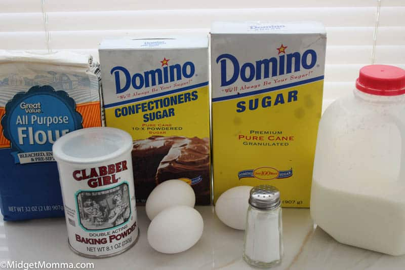 funnel cake ingredients