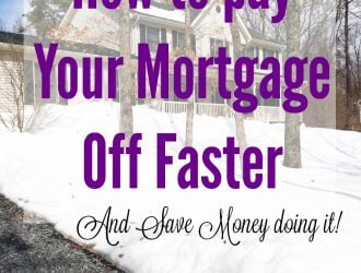 31 Ways to Save $100 or more Per Year: How to Pay Your mortgage off faster and Save Money (Day 17)