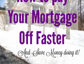 How to Pay Your mortgage off faster and Save Money