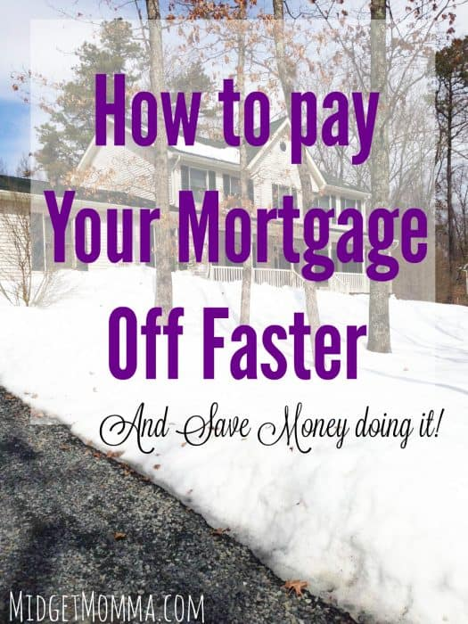 How to Pay Your mortgage off faster