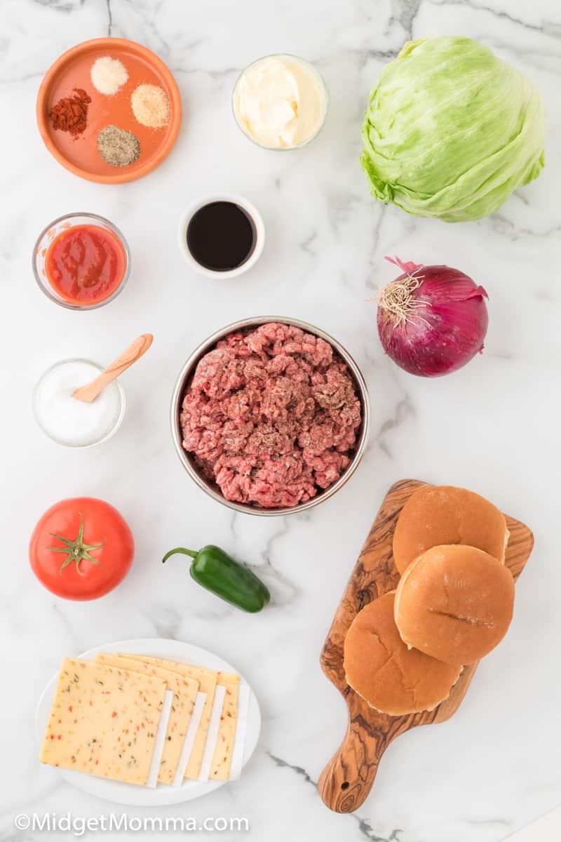 Jalapeno Jack Cheeseburger Recipe ingredients