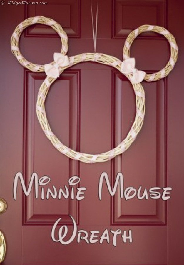 Minnie Mouse Wreath