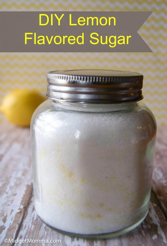 how to make lemon sugar