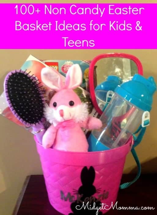 noncandy easter basket ideas for gifts and teens