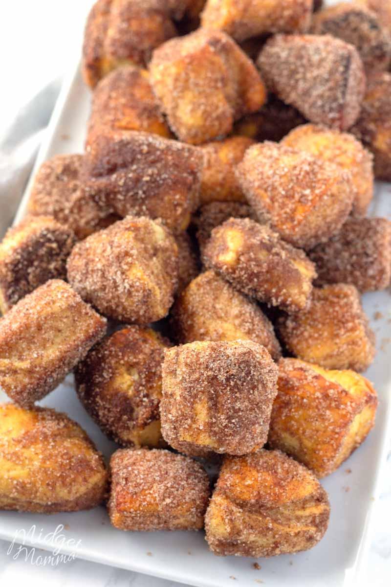 Cinnamon Sugar Pretzels