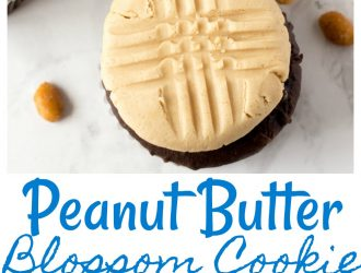 Peanut Butter Blossom Cookie Cupcake