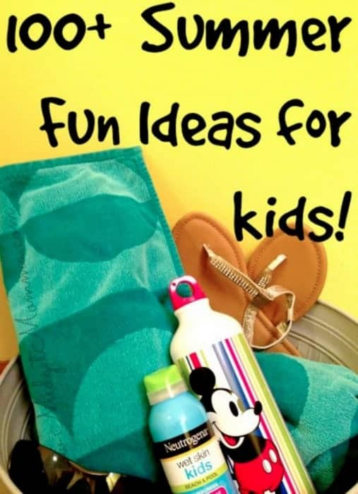 fun things to do with kids during the summer