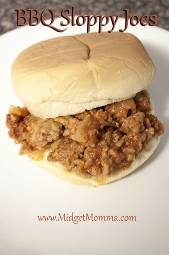 If you are a fan of sloppy joes then you are going to love this BBQ Sloppy Joes Recipe. They are just as sloppy but with the flavor of BBQ sauce.