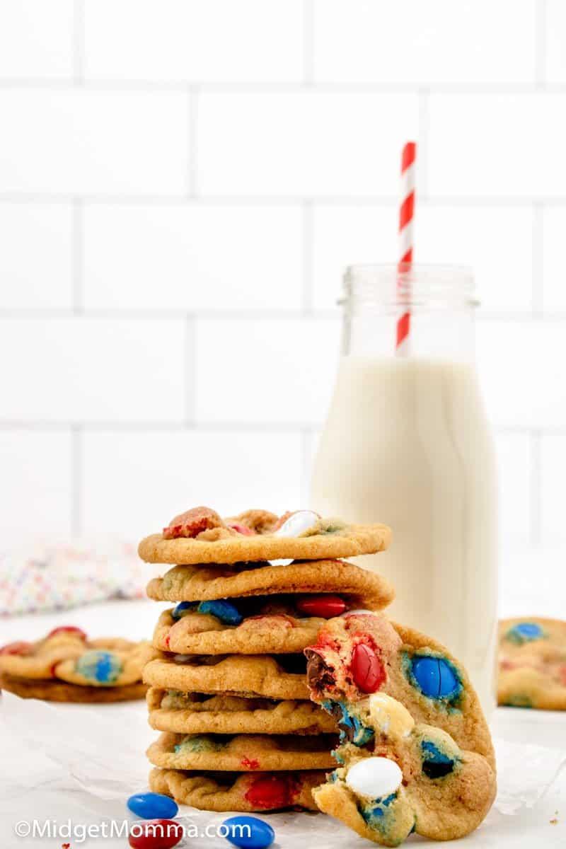 Patriotic M&M Cookies Recipes