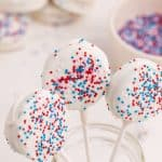 Red, White & Blue Chocolate Covered Oreos