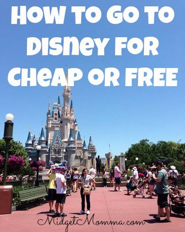 How to go to Disney for Cheap or even FREE