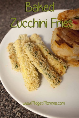 These easy Baked Zucchini Fries are better for you then eating regular fries and they taste amazing! These Baked Zucchini Fries are perfect for kids.