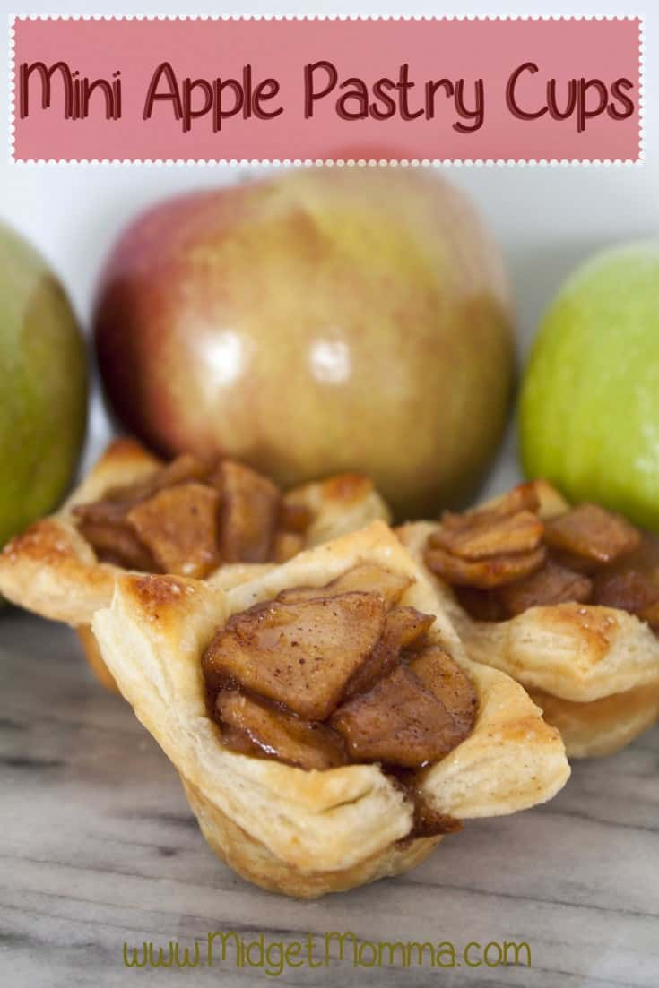 Using puff pastry sheets you can make these delicious Apple Pie Puff Pastry Cups that will have everyone thinking you were baking for hours.