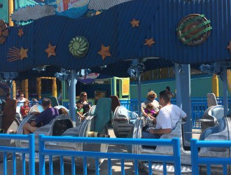 C Is For The New Cookie Monster's Land at Sesame Place