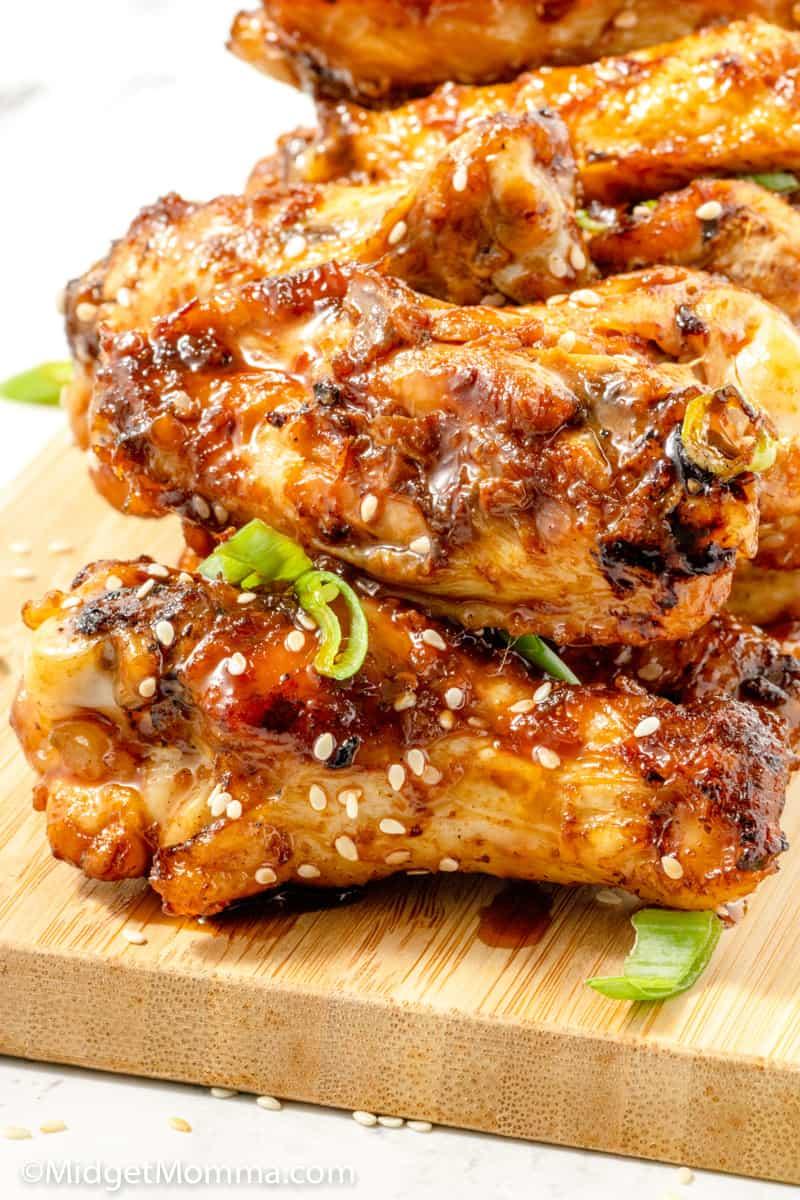 Korean BBQ Grilled Wings