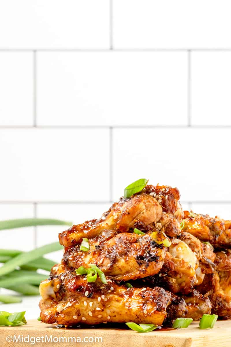 Korean BBQ Grilled Wings recipe