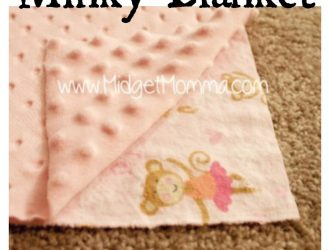 DIY Minky Blanket