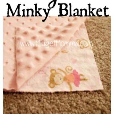 How to make a minky blanket