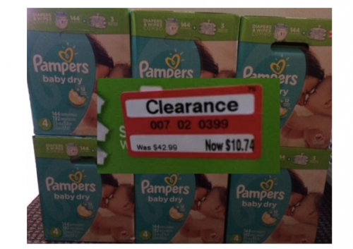 Target Huge Box Of Pampers Baby Dry Diapers Amp 3 Packages