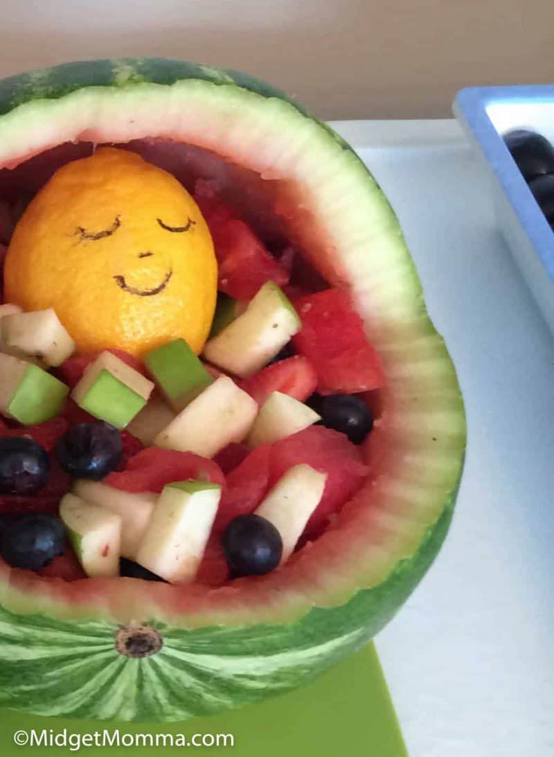 close up photo of watermelon baby carriage