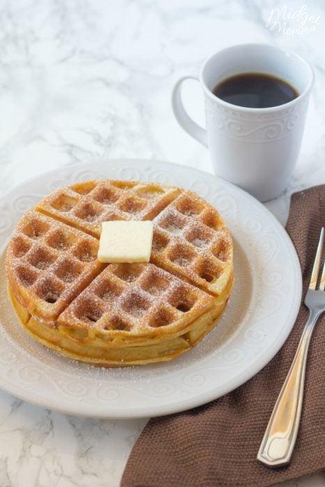 belgian waffle mix