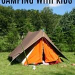 Essentials for camping with kids